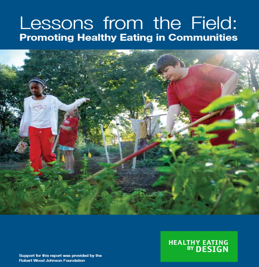 Click here to read Lessons from the Field: Promoting Healthy Eating in Communities